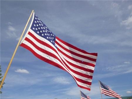 アメリカの国旗 星条旗