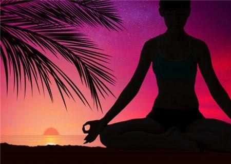瞑想、ヨガのイメージ